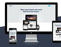 Press/ Micro Site
