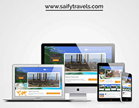 CS-Website for Saify Travels (Travel Company)