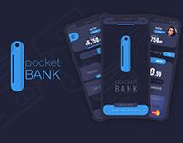 Pocket Bank Mobile UI UX