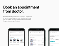 Well Being Medical app UIUX Design