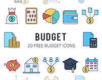 Budget Vector Free Icon Set