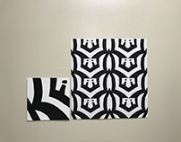 Figure Ground Reversal with Letter Shapes