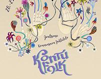 Visual identity for Kontufolk, 2017