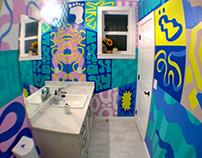CHÖNKY'S BATHROOM: Graphic & Interior Design