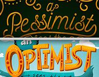 I'm a Pessimistic Optimist