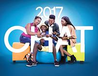 Zamtel Zambia 2017 Calendar Concept