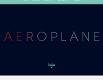 Aeroplane Website Redesign (personal)