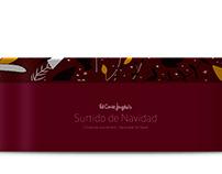 Diseño de packaging Surtido de Navidad