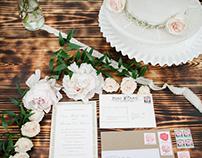 Lavender & Lace Wedding Shoot