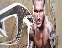 WWE: Randy Orton poster design