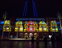 Blackpool Tower Projection Mapping