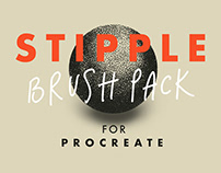 FREE PROCREATE STIPPLE BRUSH PACK