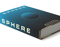 Book Cover design for Sphere