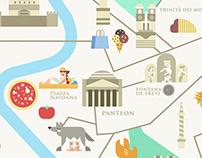 Rome, custom map