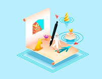 From Paper to Pixels - Illustrations