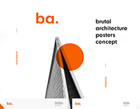 Brutal Architecture Posters