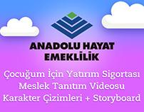 Anadolu Hayat Emeklilik   Meslek Tanıtım Videosu
