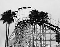 Del Mar Fair Black and White- May Gray