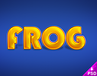 Frog Text Style