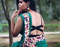 Smriti Sharma Saree Photoshoot