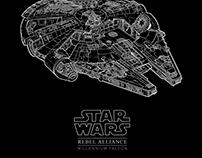 Ⓓ STAR WAR Poster Design