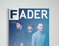 Fader Magazine Cover Concepts