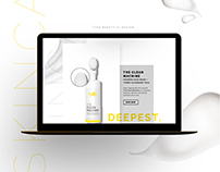 Tyra Beauty Skincare UI/UX Design