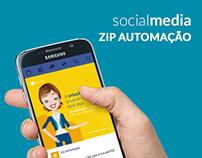 ZIP Automação | Social Media