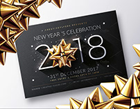 New Year 2018 | Psd Flyer Template