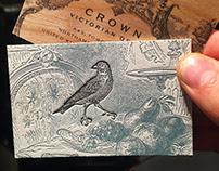 Vintage Style Letterpress Cards
