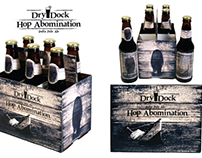 Dry Dock Brewery - Hop Abomination Packaging Design
