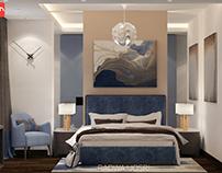 Modern bedroom design at con creative office