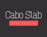 Free Cabo Slab Serif Font Family
