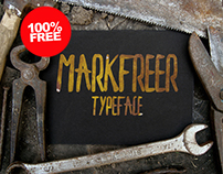 Free Markfreer Typeface