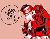 Santa: What Up?