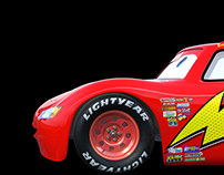 Lightning McQueen - Blender 3D