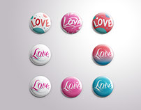 LOVE|Pin Design