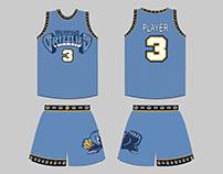 Merged NBA Jerseys