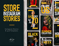 Fashion Instagram Story Bundle Template/ Fashion/ Store