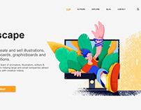 Escape from PC | landing page design
