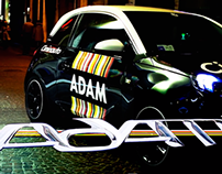 Opel Adam, promo