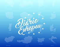 DIÁRIO EUROPEU / VISUAL IDENTITY / YOUTUBE CHANNEL
