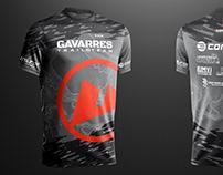 """Diseño de camisetas técnicas """"Gavarres Team"""""""