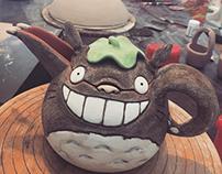 Totoro Teapot!