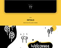 Archana's Welcome Postcard