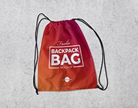 Free Backpack Bag Mockup PSD