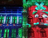 Videomapping Winter in Antwerpen 2017