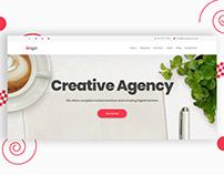 Origin - Creative Agency Website