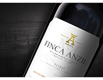 FINCA ANZIL RESTYLING WINE LABEL