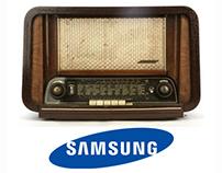 Samsung // Fridge // Radio
